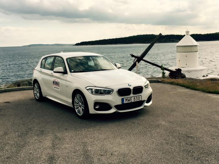 BMW-bilar på Medinas Trafikskola Karlshamn